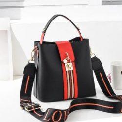 JT81895-black Tas Selempang Wanita Cantik Import