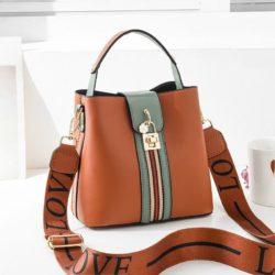 JT81895-brown Tas Selempang Wanita Cantik Import
