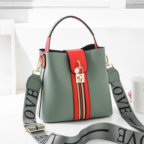 JT81895  MATERIAL PU SIZE L21XH19XW12CM WEIGHT 600GR COLOR GREEN