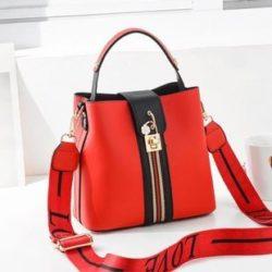 JT81895-red Tas Selempang Wanita Cantik Import