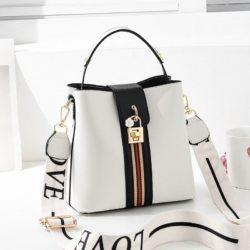 JT81895-white Tas Selempang Wanita Cantik Import