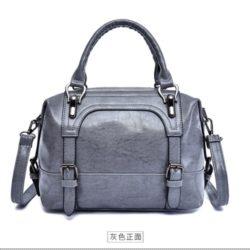 JT819526-gray Tas Handbag Selempang Wanita Elegan Import