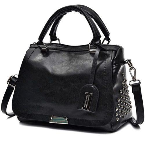 JT819561-black Tas Handbag Selempang Wanita Import terbaru