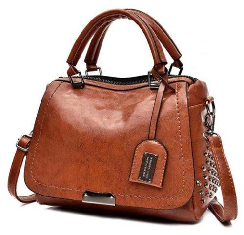 JT819561-brown Tas Handbag Selempang Wanita Import terbaru