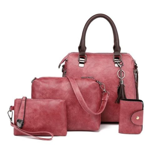 JT819624 IDR.188.000 MATERIAL PU SIZE L26XH25XW10CM WEIGHT 900GR (4IN1) COLOR DARKPINK