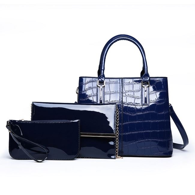 JT8201 (3IN1) IDR.225.000 MATERIAL PU SIZE L31XH23.5XW13CM, MEDIUM 25X17CM, SMALL 20.5X11CM WEIGHT 1000GR COLOR BLUE