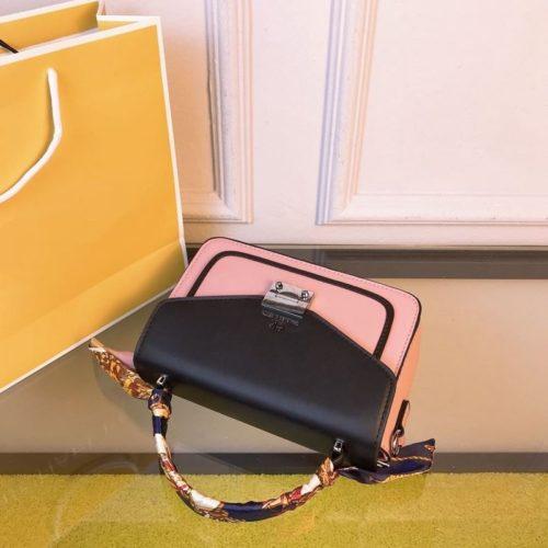 JT8207-pink Tas Selempang Import Wanita Cantik Elegan