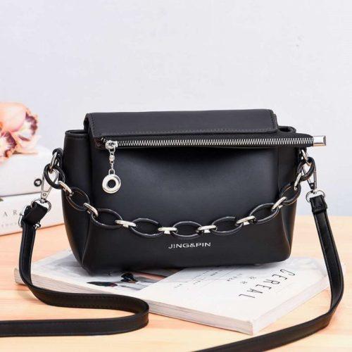 JT830-black Tas Selempang Fashion Terbaru Wanita Cantik
