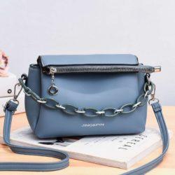 JT830-blue Tas Selempang Fashion Terbaru Wanita Cantik