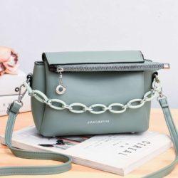 JT830-green Tas Selempang Fashion Terbaru Wanita Cantik