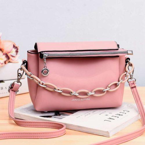 JT830-pink Tas Selempang Fashion Terbaru Wanita Cantik