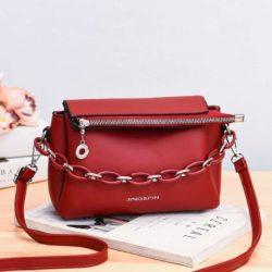 JT830-red Tas Selempang Fashion Terbaru Wanita Cantik