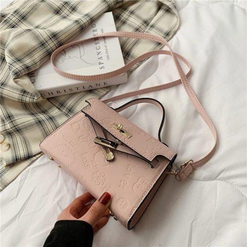JT83330-pink Tas Selempang Kelly Wanita Cantik Import Terbaru