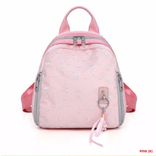 JT83647 IDR.159.000 MATERIAL NYLON SIZE L25XH26XW18CM WEIGHT 450GR COLOR PINKB