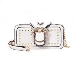 JT8365-white Clutch Bag Elegan Import Wanita Cantik