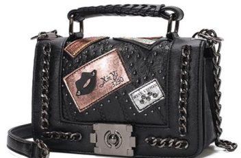 JT839501-black Tas Selempang Handbag Import Wanita