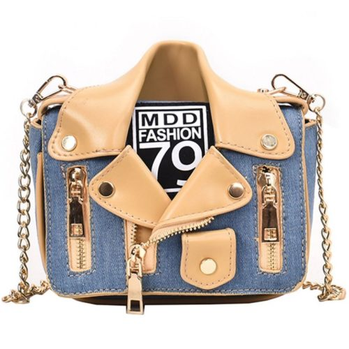 JT8399-lighblue Tas Selempang Tali Rantai MDD Fashion 79