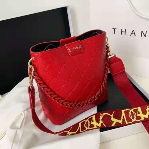 JT8460-red Tas Selempang Fashion Wanita Cantik Terbaru