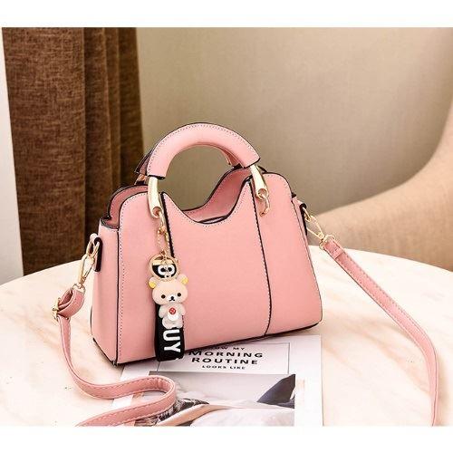 JT8601-pink Tas Selempang Cantik Modis Import Terbaru