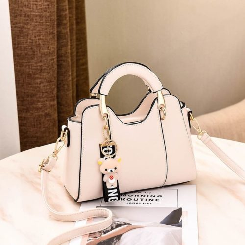 JT8601-white Tas Selempang Cantik Modis Import Terbaru