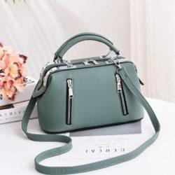 JT8607-green Doctor Bag Cantik Import Kekinian