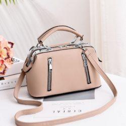 JT8607-khaki Doctor Bag Cantik Import Kekinian