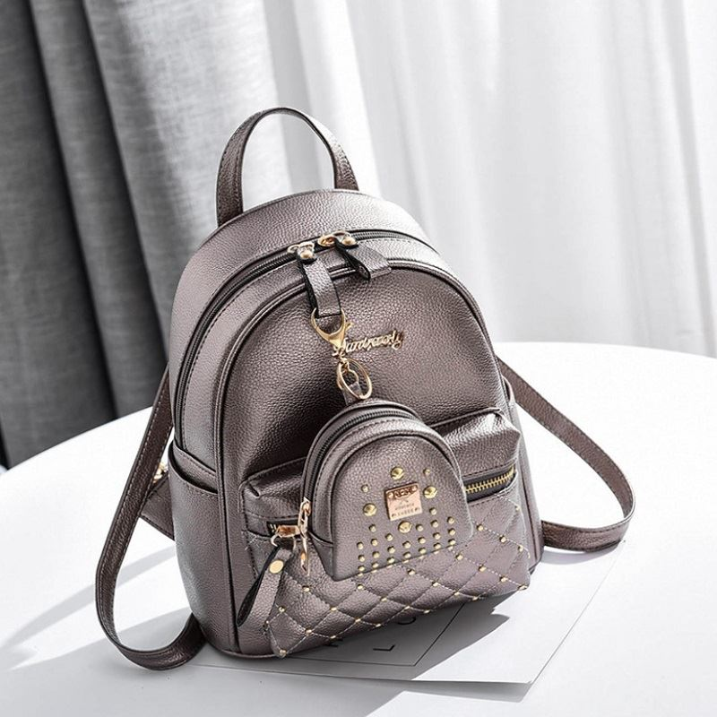 JT8692 (2IN1) IDR.169.000 MATERIAL PU SIZE L24XH27XW12CM WEIGHT 550GR COLOR SILVER