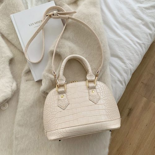 JT8699-beige Tas Handbag Selempang Wanita Elegan Import