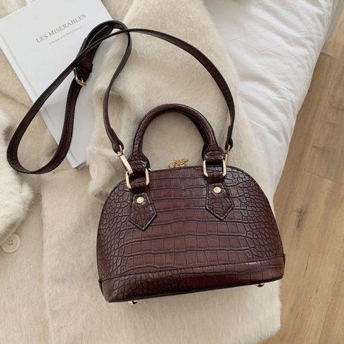 JT8699-coffee Tas Handbag Selempang Wanita Elegan Import