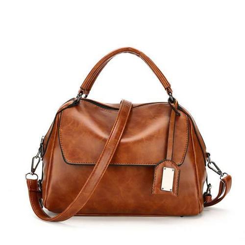 JT8800-brown Tas Selempang Cantik Wanita Elegan Import