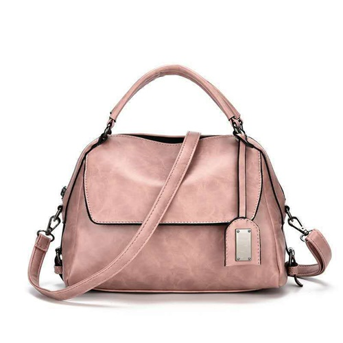 JT8800-pink Tas Selempang Cantik Wanita Elegan Import