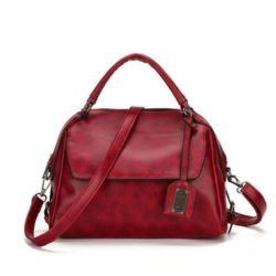 JT8800-red Tas Selempang Cantik Wanita Elegan Import