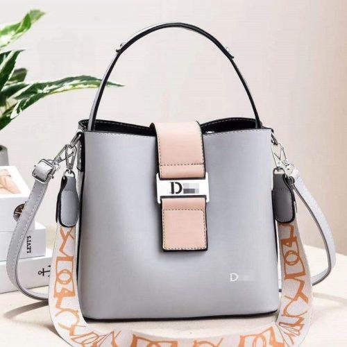 JT88073-gray Tas Selempang Import Wanita Cantik Elegan