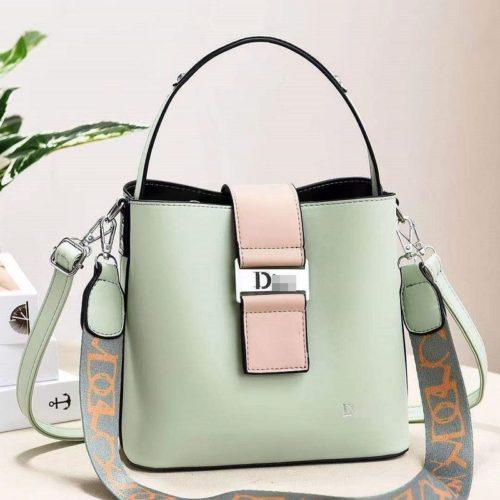 JT88073-green Tas Selempang Import Wanita Cantik Elegan