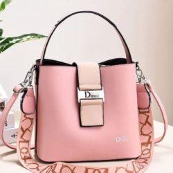 JT88073-pink Tas Selempang Import Wanita Cantik Elegan
