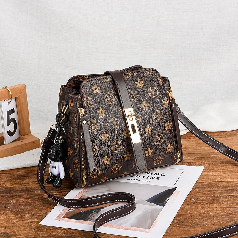 JT8809 IDR.162.000 MATERIAL PU SIZE WEIGHT COLOR FLOWERCOFFEE