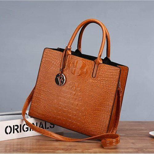 JT8813-brown Tas Handbag Wanita Import Terbaru