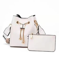 JT8816 (2IN1) MATERIAL PU SIZE BIG L17XH18XW10CM, SMALL 15X9CM WEIGHT 600GR COLOR BEIGE