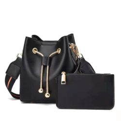 JT8816 (2IN1) MATERIAL PU SIZE BIG L17XH18XW10CM, SMALL 15X9CM WEIGHT 600GR COLOR BLACK