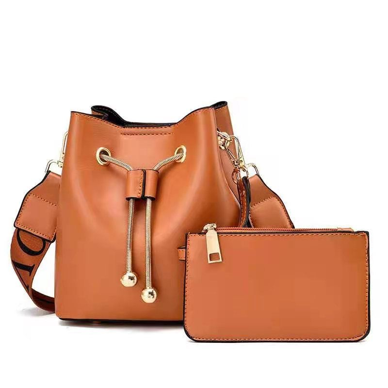 JT8816 (2IN1) MATERIAL PU SIZE BIG L17XH18XW10CM, SMALL 15X9CM WEIGHT 600GR COLOR BROWN