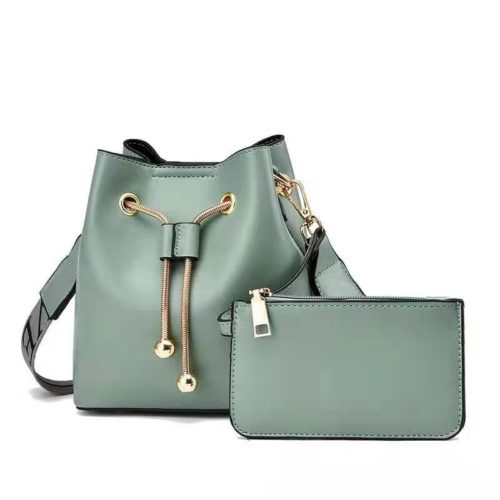 JT8816 (2IN1) MATERIAL PU SIZE BIG L17XH18XW10CM, SMALL 15X9CM WEIGHT 600GR COLOR GREEN