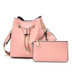 JT8816 (2IN1) MATERIAL PU SIZE BIG L17XH18XW10CM, SMALL 15X9CM WEIGHT 600GR COLOR PINK