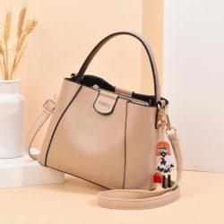 JT8818-khaki Tas Handbag Pesta Gatungan Cantik