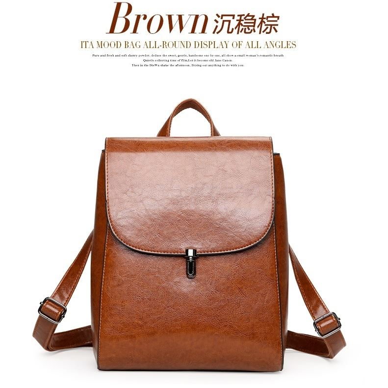 JT8819 IDR.168.000 MATERIAL PU SIZE L23XH29XW12CM WEIGHT 750GR COLOR BROWN