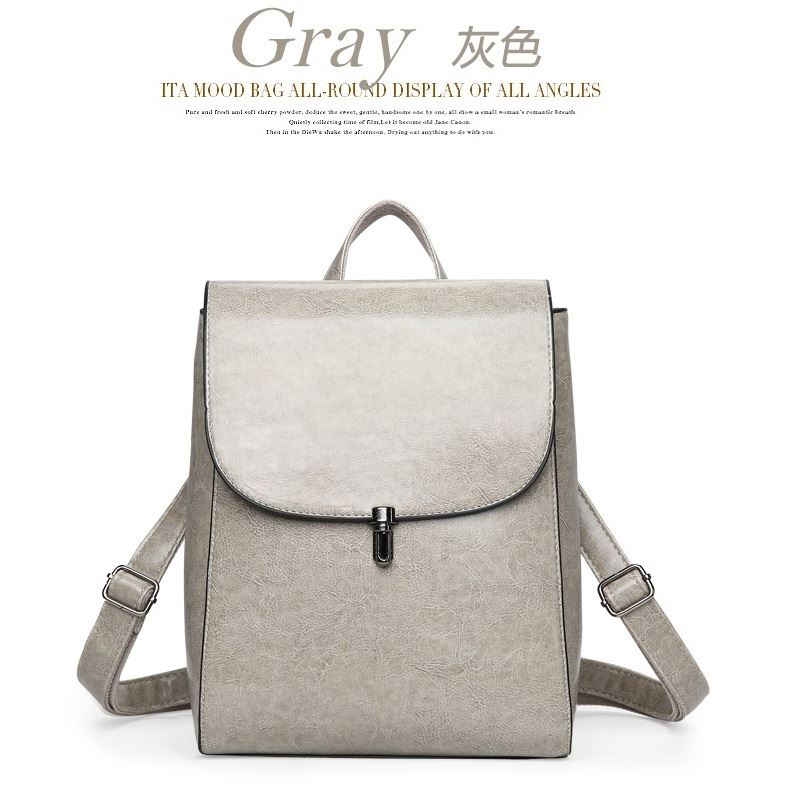 JT8819 IDR.168.000 MATERIAL PU SIZE L23XH29XW12CM WEIGHT 750GR COLOR GRAY