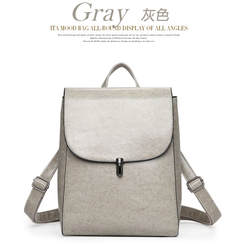 JT8819 IDR.178.000 MATERIAL PU SIZE L23XH29XW12CM WEIGHT 750GR COLOR GRAY