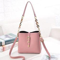 JT8836-pink Tas Selempang Import Wanita Cantik Terbaru