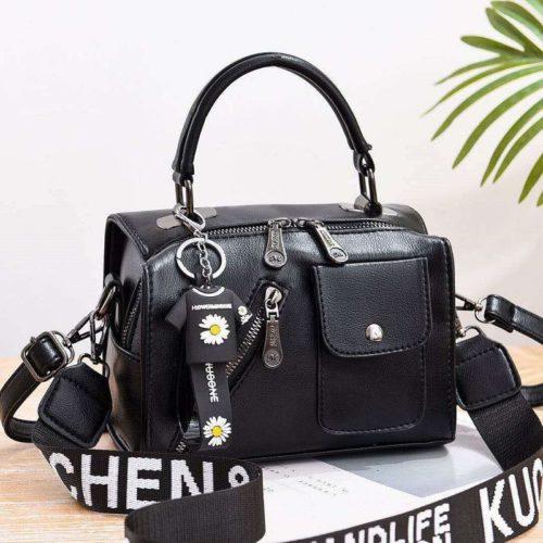 JT8856-black Tas Selempang Fashion Wanita Cantik Terbaru