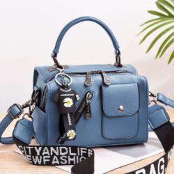 JT8856-blue Tas Selempang Fashion Wanita Cantik Terbaru