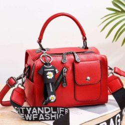 JT8856-red Tas Selempang Fashion Wanita Cantik Terbaru
